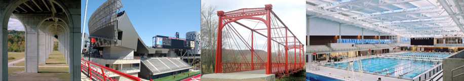 photo collage of ACEC Ohio member projects