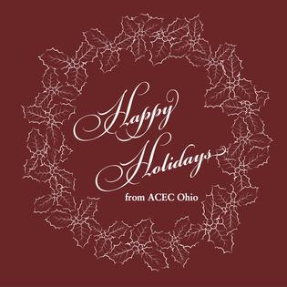 Happy Holidays From Acec Ohio